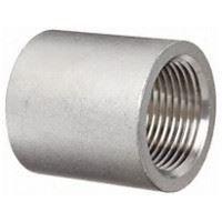 1 inch NPT full coupling 316 Stainless Steel