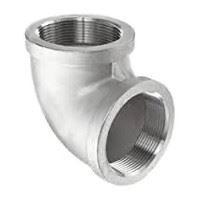 ⅛ inch NPT threaded 90 deg 316 Stainless Steel elbow