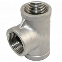 Picture of ¼ inch NPT Class 150 Stainless Steel Straight Tee