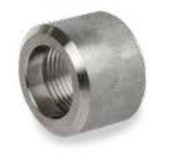 Picture of 1 1/2 inch class 3000 forged 316 Stainless Steel Half Couplings