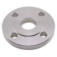 Picture of 1-1/2 x 1-1/4 inch class 150 carbon steel slip on reducing flange