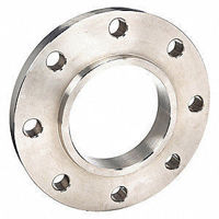 Picture of 4 x 2 inch class 150 carbon steel slip on reducing flange
