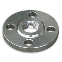 Picture of 2-1/2 x 1 inch class 150 carbon steel threaded reducing flange