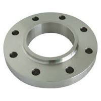 Picture of 4 x 3 inch class 150 carbon steel threaded reducing flange