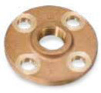 Picture of 2 inch NPT Threaded Class 150 Bronze Theaded Flange