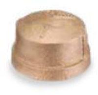 Picture of 4 inch NPT threaded bronze cap