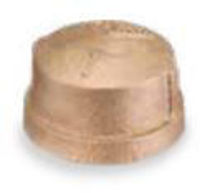 Picture of 1 inch NPT threaded lead free bronze cap